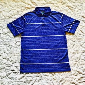 🏌️‍♂️ PGA Tour ⛳️ 〰️DRI-FIT〰️ striped Polo